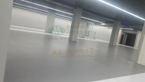 青海图书馆 水性环氧地坪